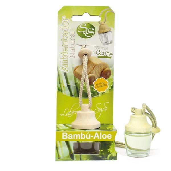 Odorizant auto Laboratorio SyS - Bambus si Aloe 7 ml imagine produs