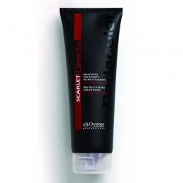 Masca Coloranta Restructuranta Rosu Intens - Oyster Cosmetics Directa Scarlet Restructuring Color Mask 250 ml
