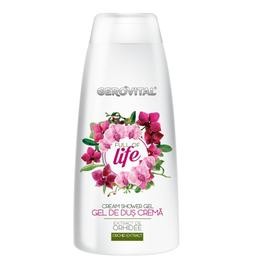 Gel de Dus Crema – Gerovital Cream Shower Gel – Full of Life, 250ml de la esteto.ro