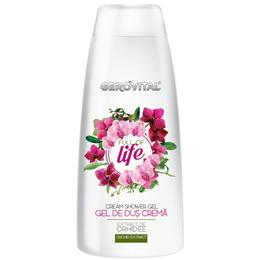 Gel de Dus Crema - Gerovital Cream Shower Gel - Full of Life, 400ml