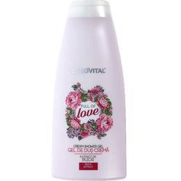Gel de Dus Crema - Gerovital Cream Shower Gel - Full of Love, 750ml