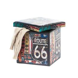 Taburet Design 38x38 Route 66 - Unic Spot Ro