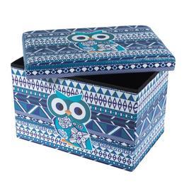 Taburet Design 48X32 Blue Owl - Unic Spot Ro