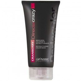 Masca Coloranta Restructuranta Rosu - Oyster Cosmetics Directa Crazy Cranberry Restructuring Color Mask 150 ml