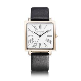 Ceas de dama elegant Geneva, curea din piele
