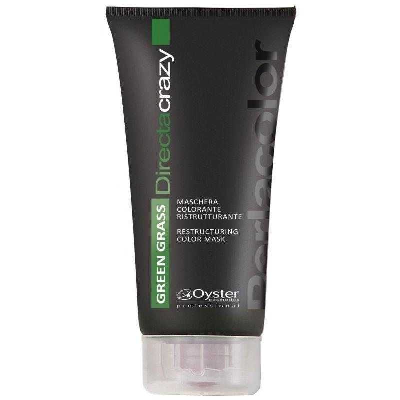 Masca Coloranta Restructuranta Verde - Oyster Cosmetics Directa Crazy Green Restructuring Color Mask 150 ml imagine produs