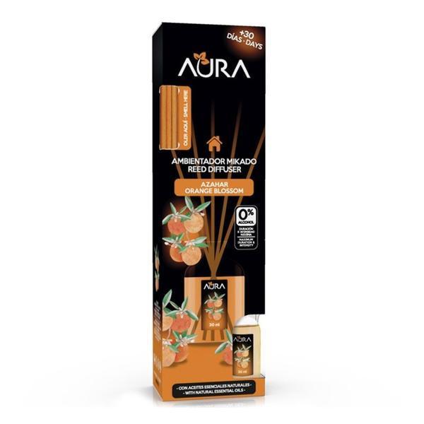 Odorizant cameră 0% alcool Aura - Floare de portocal 30 ml imagine produs