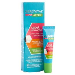 Crema Ultra-Activa - Gerovital Stop Acnee Ultra-Active Cream, 15ml