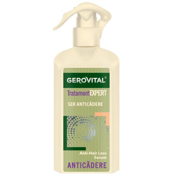 Ser Anticadere - Gerovital Tratament Expert Anti-Hair Loss Serum, 150ml imagine produs