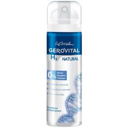 Deodorant Antiperspirant Gerovital H3 Evolution - Natural, 150ml
