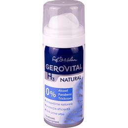 Deodorant Antiperspirant Gerovital H3 Evolution - Natural, 40ml