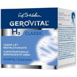 Crema Lift Restructuranta de Noapte - Gerovital H3 Classic Restructuring Lift Cream, 50ml