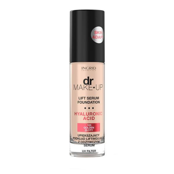 Fond de ten Ingrid Dr. Make-Up Lift Serum 103, 30 ml poza