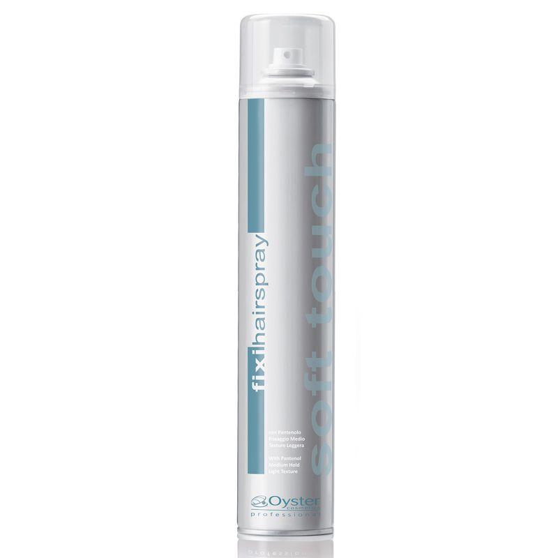 Fixativ cu Fixare Intermediara - Oyster Fixi Hairspray Soft Touch Medium Hold 500 ml imagine produs