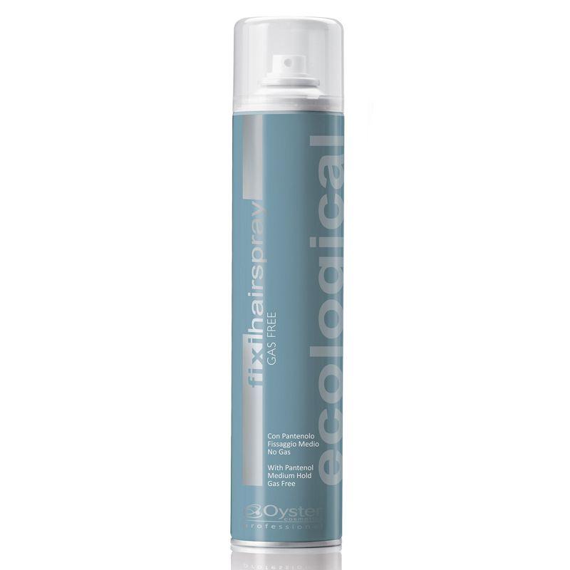 Fixativ fara Gaz cu Fixare Intermediara - Oyster Fixi Hairspray Ecological Medium Hold 300 ml imagine produs