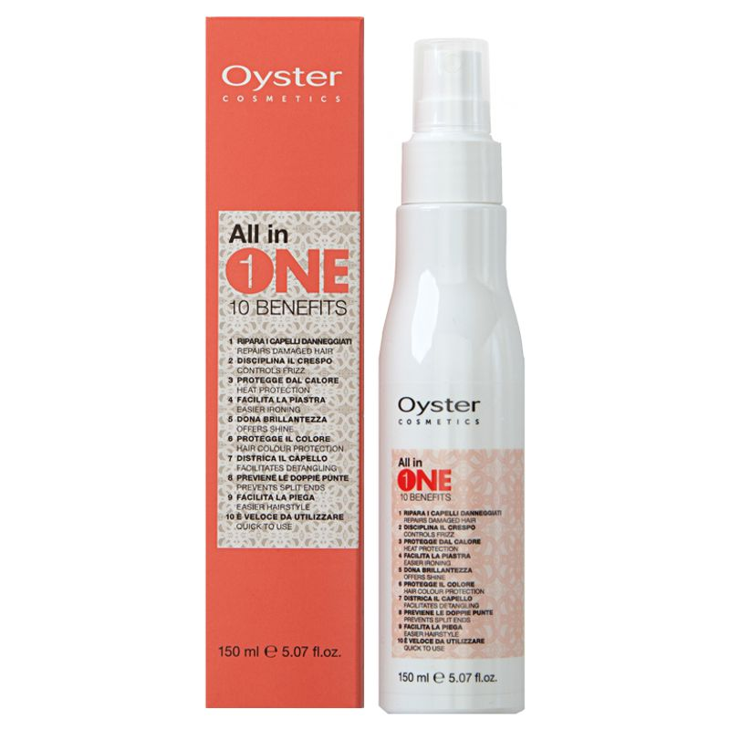 Masca Spray cu Protectie Termica - Oyster All in One 10 Benefits Spray Mask 150 ml