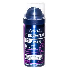 Deodorant Antiperspirant Gerovital H3 Men - Wild, 40ml