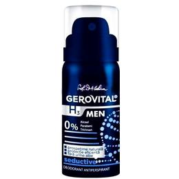 Deodorant Antiperspirant Gerovital H3 Men - Seductive, 40ml