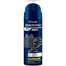 Deodorant Antiperspirant Gerovital H3 Men - Confident, 150ml