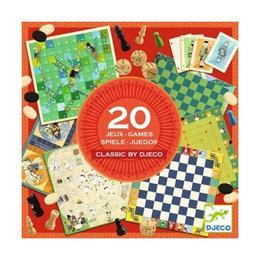 20 jocuri clasice Colectia - Djeco