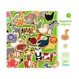 Joc magnetic cu animale - Multicolor - Djeco
