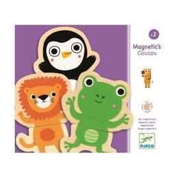 Joc cu magneti Animale - prietenoase - Djeco