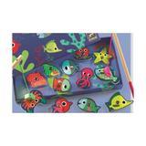 Joc de pescuit magnetic pesti colorati - Djeco