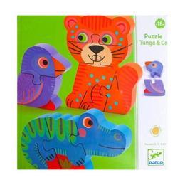 Puzzle - Figurine Tunga - Djeco