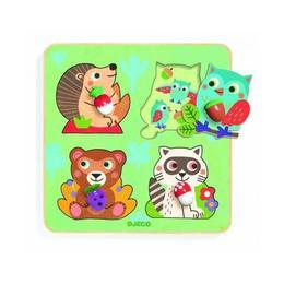 Puzzle Animale din padure - Djeco