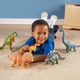 Set dinozauri - figurine mari pentru bebelusi - Learning Resources