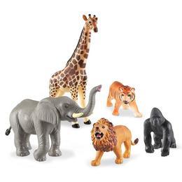 Set animale jungla - figurine mari pentru bebelusi - Learning Resources