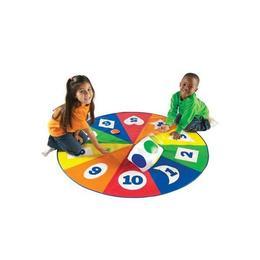 Saltea activitati - Circle time - Cifre, forme si culori - Learning Resources
