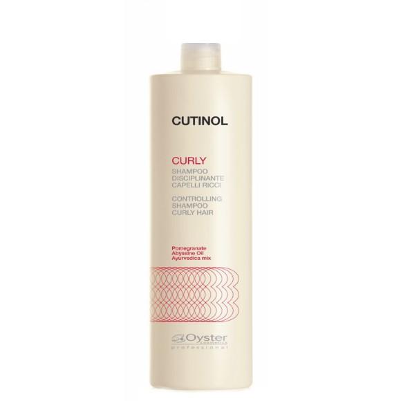 Sampon pentru Par Cret - Oyster Cutinol Curly Controlling Shampoo 1000 ml imagine
