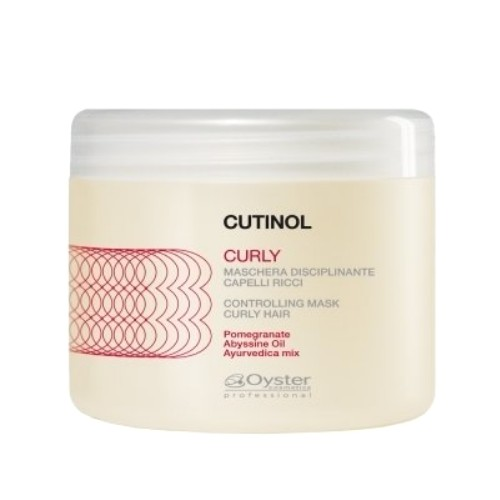 Masca pentru Par Cret - Oyster Cutinol Curly Controlling Mask 500 ml
