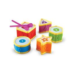 Set sortare si numarat - Tobe educative - Learning Drums - Learning Resources