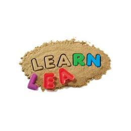 Set 26 forme nisip Litere mari de tipar - Learning Resources