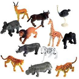 Set 60 Figurine Animalele Junglei - Learning Resources