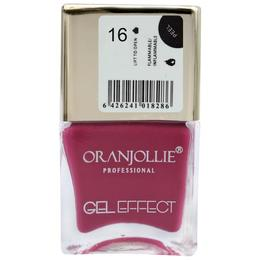 Lac de unghii Oranjollie Gel Effect 16, 15 ml