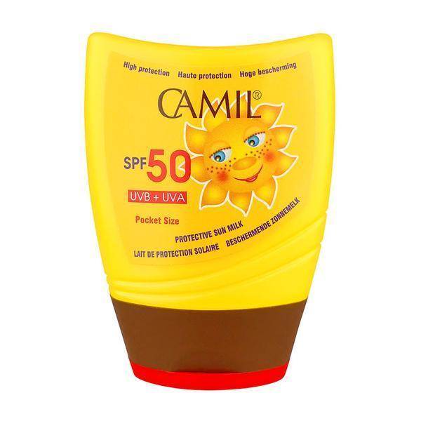 Lotiune de protectie solara de buzunar Camil SUN SPF50 - SuperFinish - 100 ml poza