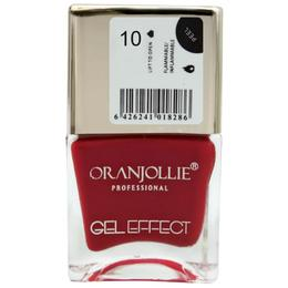 Lac de unghii Oranjollie Gel Effect 10, 15 ml
