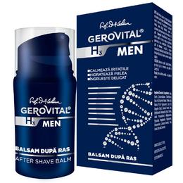 Balsam dupa Ras - Gerovital H3 Men After Shave Balm, 50ml