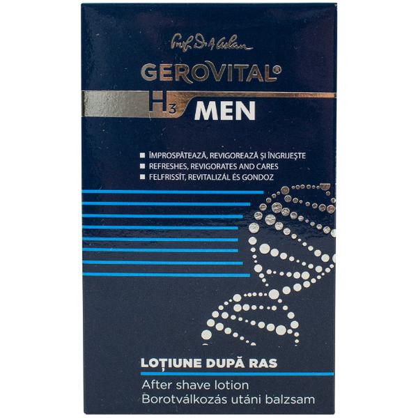 Lotiune dupa Ras - Gerovital H3 Men After Shave Lotion, 100ml poza