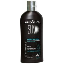 Lapte Autobronzant - Gerovital Sun Self Tanning Milk, 200ml