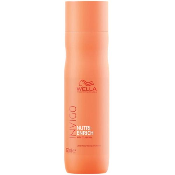 Sampon Intens Nutritiv - Wella Professionals Invigo Nutri Enrich Deep Nourishing Shampoo, 250ml poza