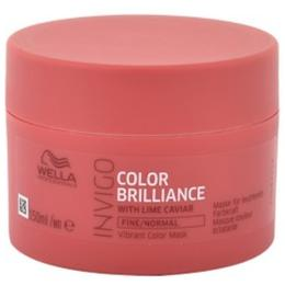 Masca pentru Par Vopsit, Fin sau Normal - Wella Professionals Invigo Color Brilliance Vibrant Color Mask Fine/Normal Hair, 150ml