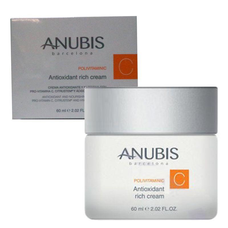 Crema Antioxidanta Nutritiva - Anubis Polivitaminic Line Antioxidant Rich Cream 60 ml imagine produs