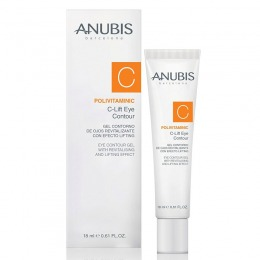 Gel Contur Ochi Antioxidant - Anubis Polivitaminic Line C-Lift Eye Contour Gel 18 ml