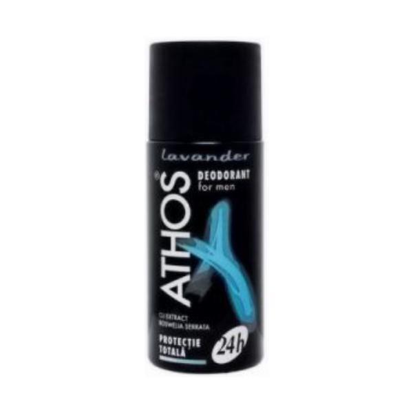 Deodorant Farmec Athos For Men - Lavander, 150ml poza