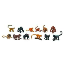 Set 12 figurine Padurea ecuatoriala - Safari Toob - Safari LTD