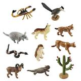 Set 12 figurine Desert - Safari Toob - Safari LTD
